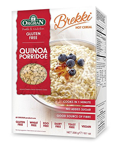 Orgran Quinoa Porridge 230g (Pack of 6) by Orgran