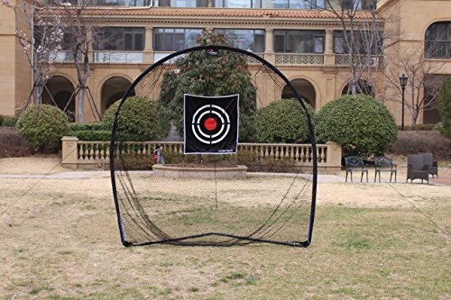 Galileo Golf Swing Net Training Hitting Practice Nets for Backyard Driving Indoor Use with Target&Carry Bag 8'x8'x4' by Galileo Thought (Image #3)