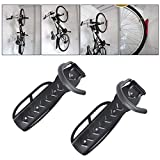 Bicycle Holders Home Storage Rack Wall Mounted Hanger Hook 2 PCS