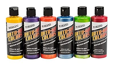 Auto Air Colors Essential Pearlized Colors, 4 oz