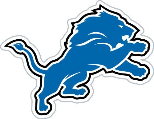 NFL Detroit Lions 12-Inch Vinyl Logo Magnet -