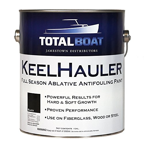 TotalBoat KeelHauler Self-Polishing Marine Bottom Paint (Black, Gallon)