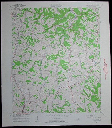 Independence Kentucky Florence Walton vintage 1962 old USGS Topo - Florence Map Kentucky