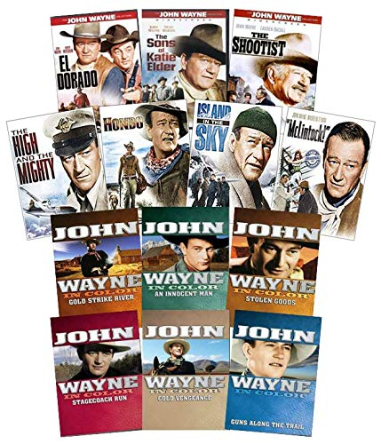 John Wayne Classic Westerns 13-Movie DVD Collection