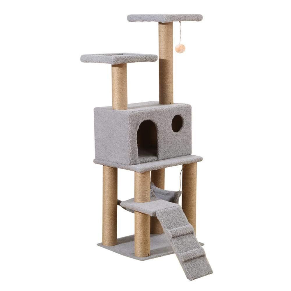 B Cat Furniture Play Towers and Trees cat Trees Towers Cat Scratch Board Cat Toy Cat Litter Pet Supplies 50  32  30cm (color   B)