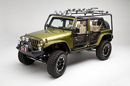 Body Armor JK-6124-1 Roof Rack Base - Box 1 of 2