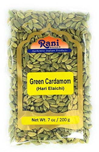Rani Green Cardamom Pods Spice (Hari Elachi) 7oz (200g) ~ Natural | Vegan | Gluten Free Ingredients | NON-GMO (Top 10 Most Expensive Coffee In The World)