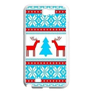Beautiful Christmas tree Unique Design Case for Samsung Galaxy Note 2 N7100, New Fashion Beautiful Christmas tree Case wangjiang maoyi