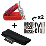 RATS Tourniquet with READYMAN Every Day Carry Belt Sleeve holder (Red w/ 2 Medic Cards Combo)