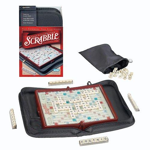 Scrabble Game Travel Folio Edition Board Game