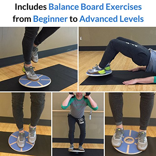 Balance Board Workout: Balance Board For Core Strength And Stability Improvement