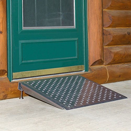 "Silver Spring Adjustable Threshold Ramp 3-6.25"" Height"