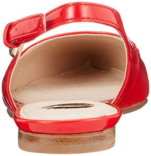 000 Mujer Bailarinas Buffalo red Para Azalia Rojo qRCwfz