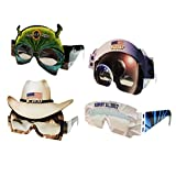 Eclipse Glasses - CE Certified Safe Solar Eclipse Glasses – 4pk Assorted- Eye Protection- Have a little fun while viewing the Eclipse with these Wacky Glasses