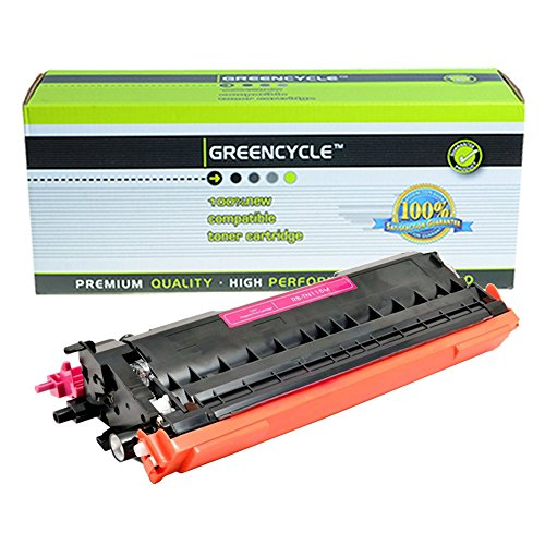 Greencycle 1 PK Compatible TN115 Magenta Toner Cartridge For Brother MFC-9840CDW HL4040CDN Printer