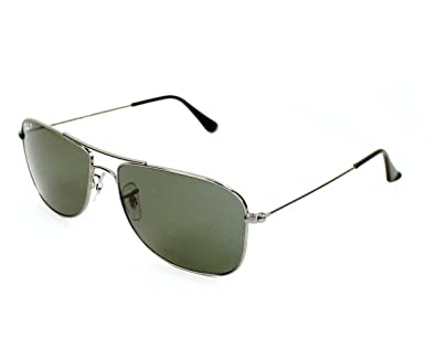Amazon.com: Ray Ban anteojos de sol RB 3477 RB3477 004/58 ...