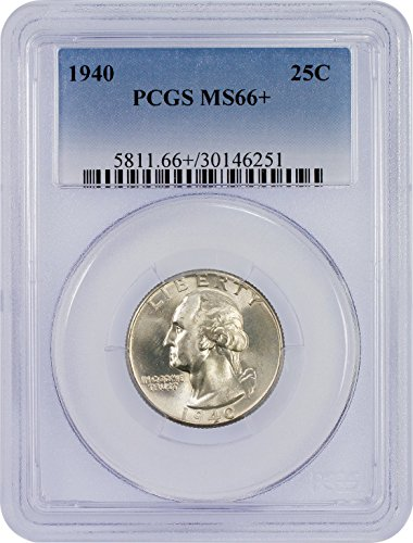 1940 P Washington Quarter Quarter MS66+ PCGS