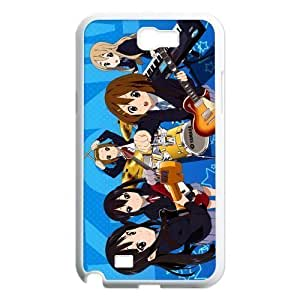 Gdragonhighfive Cell Phone Case Cover K-On Chibi Girl Band for Samsung Galaxy Note 2 N7100 Case Cover