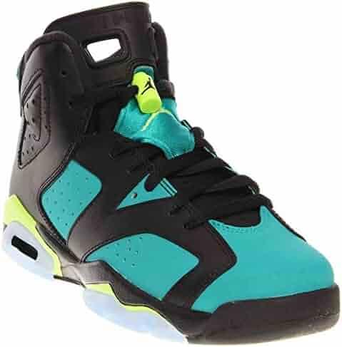 3e54de40c97 Nike Air Jordan 6 Retro GG Black Turbo Green (543390-043)