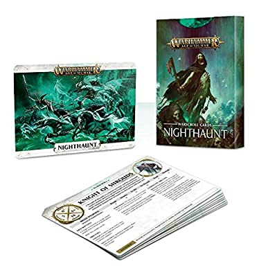 Age of Sigmar Warscroll Cards: Nighthaunt from Games Workshop