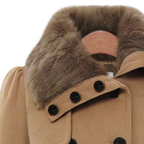 Media Invierno Jinpengran De chaqueta estilo xl Abajo Chaqueta Black Las Mujer Algodón La Longitud blue Mujeres chaqueta wvrwxO