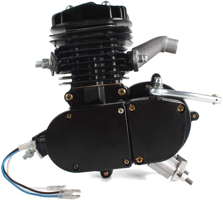 Kinbelle 80cc - Kit de motor de 2 tiempos para bicicleta motorizada con gas de combustible: Amazon.es: Coche y moto