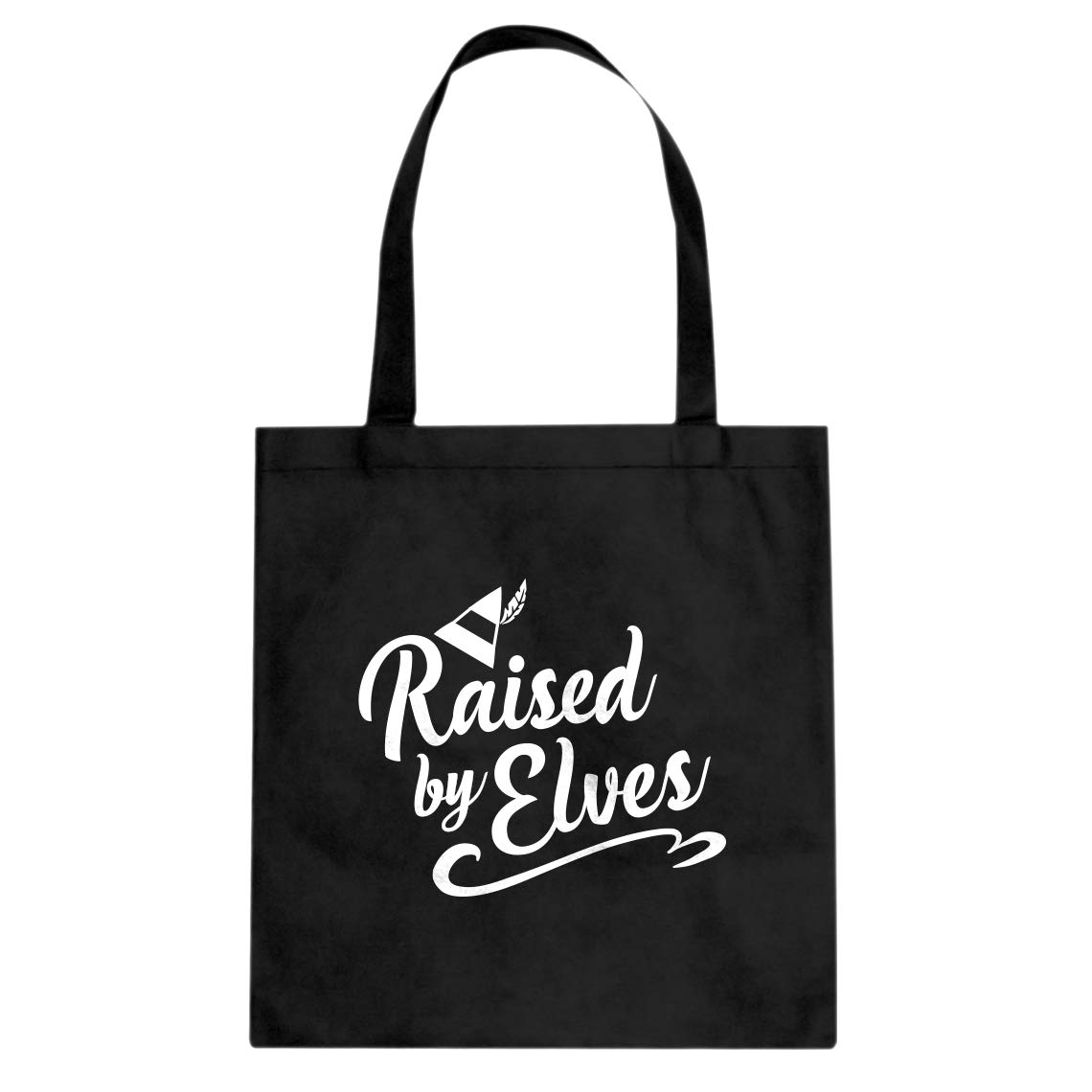 Indica Plateau Raised by Elves Cotton Canvas Tote Bag