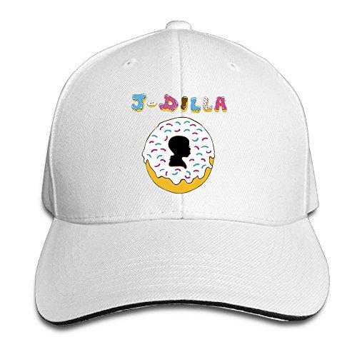 BAI XUE J Dilla Baby Design Baseball Cap White