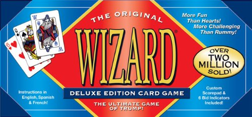 Deluxe Edition Wizard Card Game US Games Systems