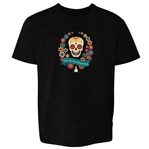 Dia de Los Muertos Sugar Skull Black 6