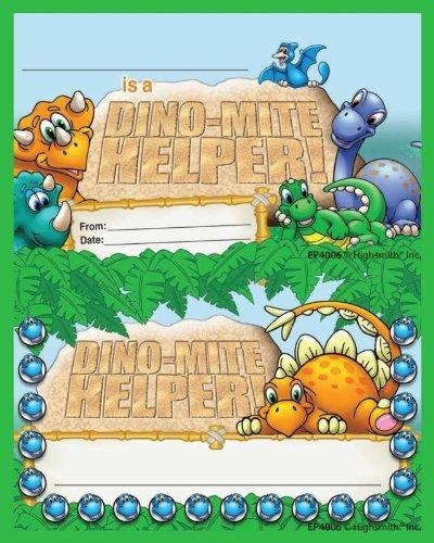 Punch Card Incentive Awards, Dino-mite Helper