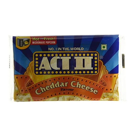 ACT II Popcorn MWPC, Cheddar Cheese,99g (Buy 2 Get 1 Free)
