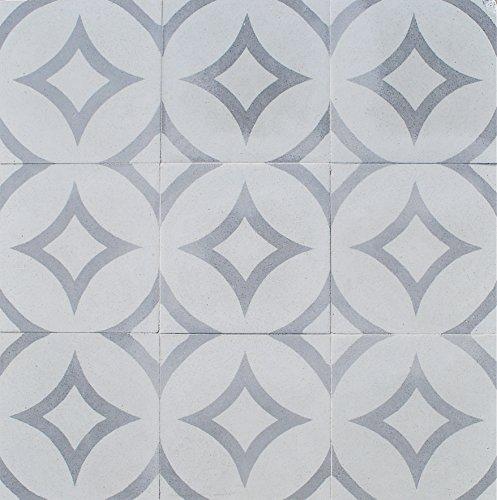 8x8 Honed Finish Cement Tile Floor (Decorative Concrete Floors)