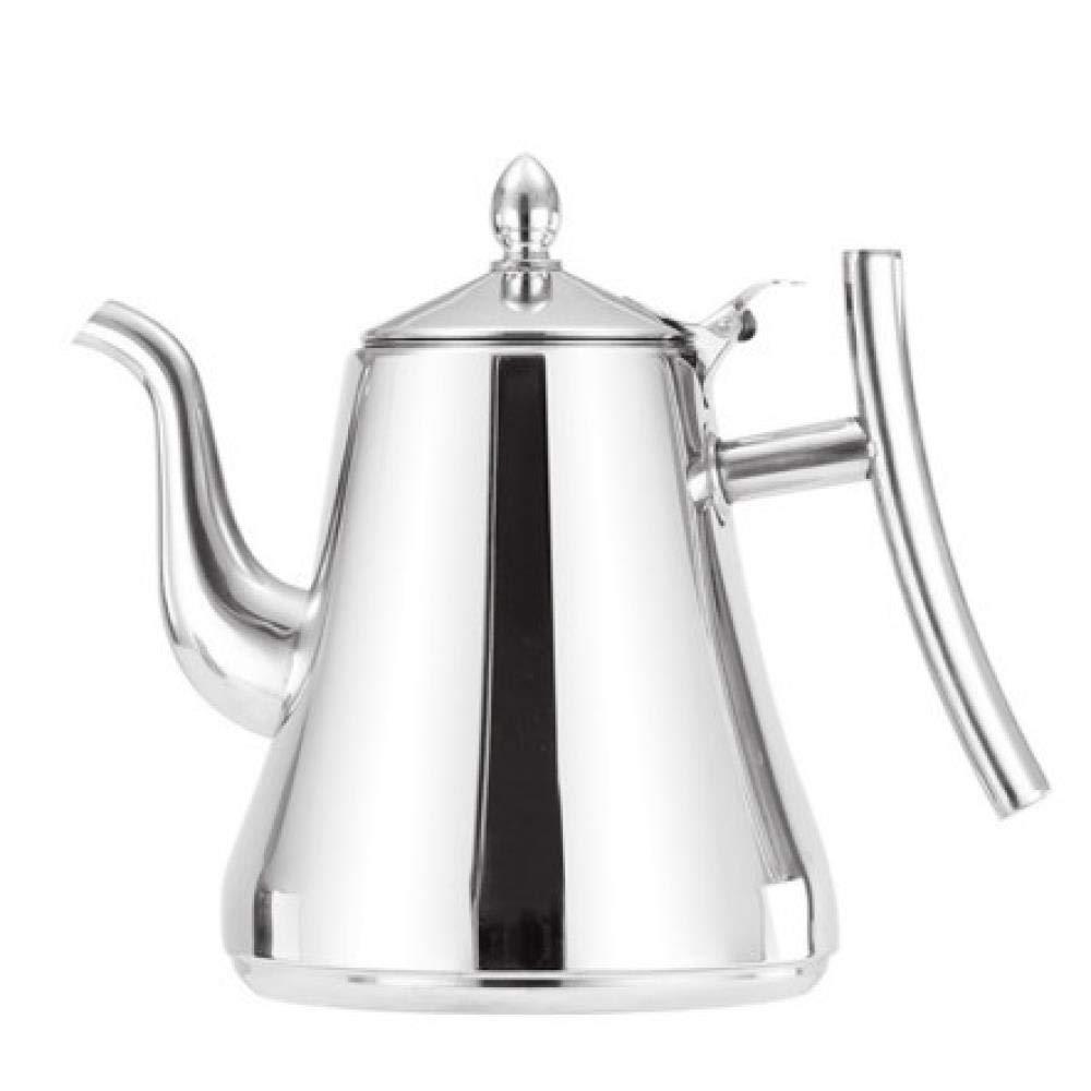 Acquisto Kschen Bollitore per tè E caffè in Acciaio Inox con Filtro Filtro Infusore Brocca Teiera Bollitori per tè Teiera Caffettiera, 1.5L Prezzi offerta