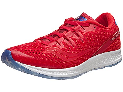 Saucony Freedom ISO W Shoe Rd/Wh/Bl 9.0 B by Saucony
