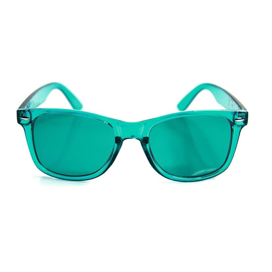 c521f78b263 Amazon.com  GloFX Aqua Color Therapy Glasses Chakra Glasses Relax Glasses   Clothing