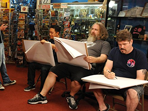 Comic Book Men 214: Cryptozoic Men ()