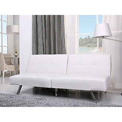 Peachy Gold Sparrow Jacksonville White Foldable Futon Sofa Bed Spiritservingveterans Wood Chair Design Ideas Spiritservingveteransorg