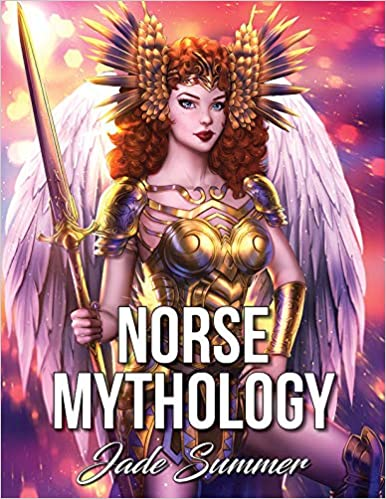 Amazon com: Norse Mythology: An Adult Coloring Book with