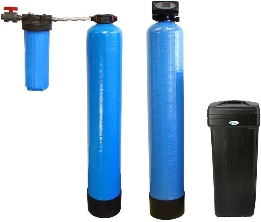 Tier1 Essential Series 48,000 Grain High Efficiency Digital Water Softener with Chlorine Reduction System