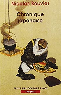 Chronique japonaise par Bouvier