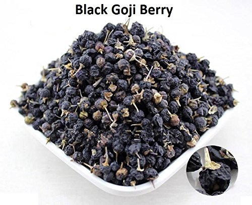 Amazon Com Herbsgreen Black Goji Berry Black Wolfberry 8oz