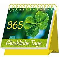 """Aufstellkalender """"365 Glückliche Tage"""" 2019: Mit Sprüchen! Kalendarium"""