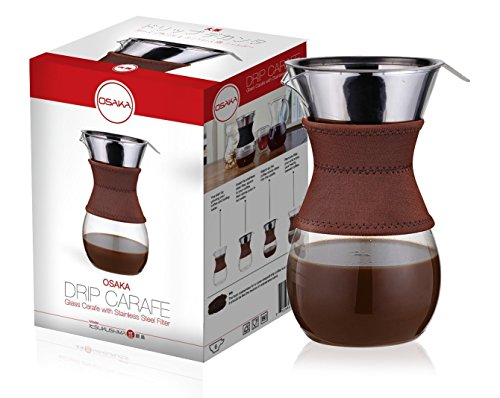Osaka Pour-Over Drip Brewer, 6 Cup (27 oz)
