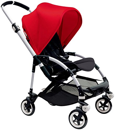 Bugaboo Bee3 Stroller – Red Black Aluminum Stroller not included