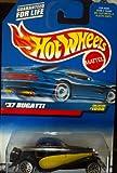 Hot Wheels '37 Bugatti #1098 Black and Yellow