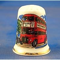 Diseño de autobuses de Londres dedal Coleccionable