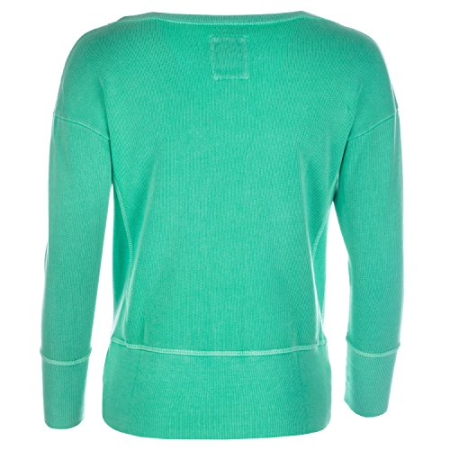 Sweat � col rond Franklin And Marshall pour dame en vert