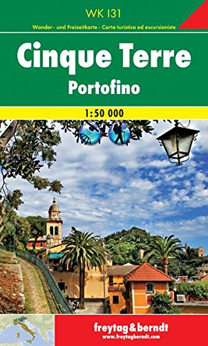 Cinque Terre 1:50 000 FB (Italy) (English, French, Italian and German Edition)