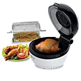 Molino Health Fryer Kitchen Appliance - Non-Stick Teflon Base, Self-Cleaning - 4kg Food Loading Capacity